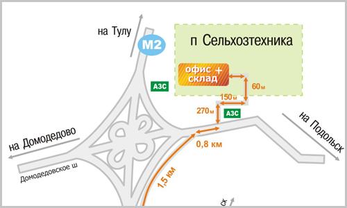 На городском транспорте: от станции Подольск (со стороны Железнодорожной улицы) автобус/маршрутное такси 17, 57, 59...